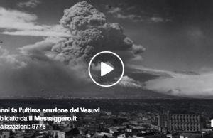17 March 1944 Mount Vesuvius erupted