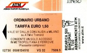Bus, metro tickets by phone - Wanted in Milan