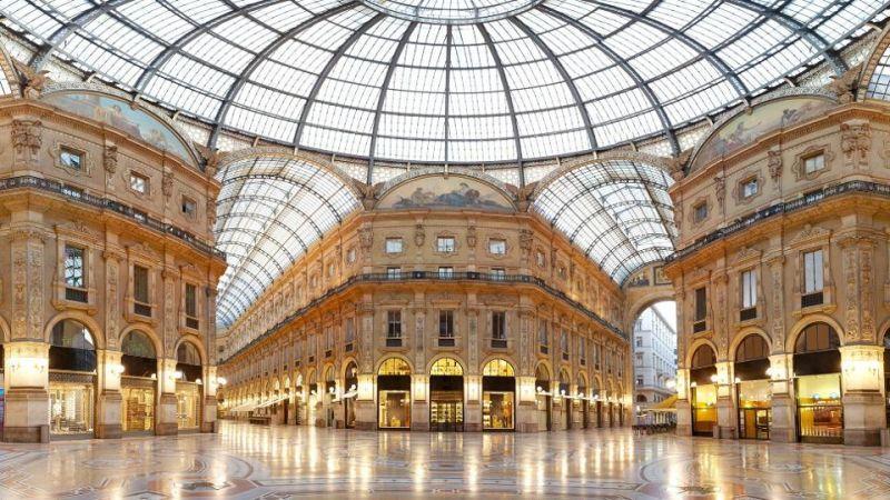 Galleria Vittorio Emanuele II, Milan, Italia