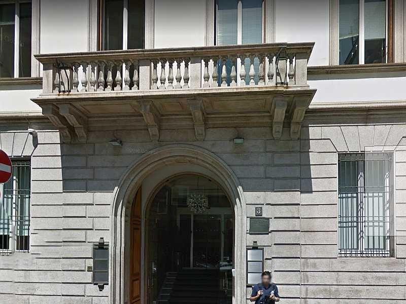 In Milan Russian Consulate