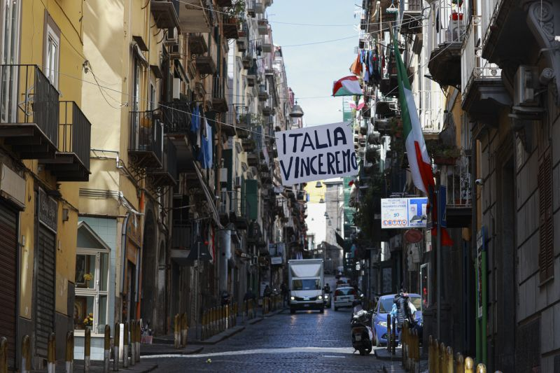 Italy Lockdown Still Indoors On 1 May Says Borrelli