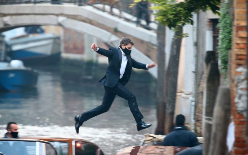 Tom Cruise returns to Venice to film Mission Impossible 7