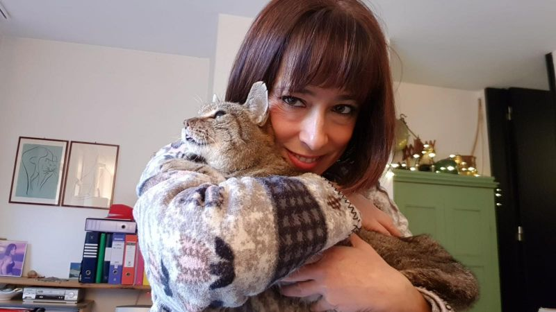 Italian woman finds her missing cat after 8 years